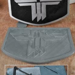 Télécharger fichier STL gratuit Retour au logo du château Wolfenstein • Objet imprimable en 3D, Ziddan