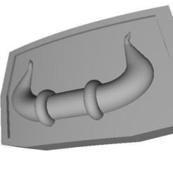 Снимок.JPG Download STL file Lambo - Belt Buckle • 3D printer model, DmitryTopaz