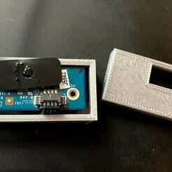 IMG_6402.jpg Download free STL file USB Apple Mac iMac iRDa infrared sensor box • 3D printing object, MikeRuby