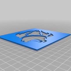 86a2e26569ccb317e223dae45b3151fb.png Télécharger fichier STL gratuit Pochoir de garde de lion • Plan à imprimer en 3D, halt07