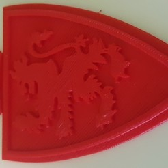 20201012_075545.jpg Download free STL file Real Zaragoza Shield • Model to 3D print, barberobd