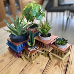Download free STL file CactusHotel • Object to 3D print, rnorbert13