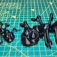 Download STL file Cute Flexi Print-in-Place Ant • 3D printing design, ultimomohicani