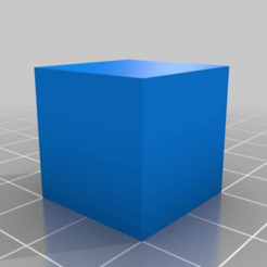 afb22eee4b60eac5fcde62ffcbdeef4b.png Download free STL file Basic 20mm Cube • 3D print design, theFPVgeek