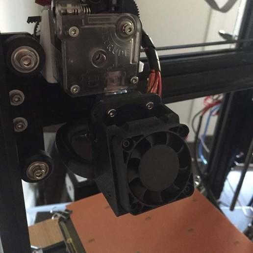 IMG_4293.jpg Télécharger fichier STL gratuit Tevo Tarantula Direct E3D Titan X-Carriage • Design pour impression 3D, theFPVgeek