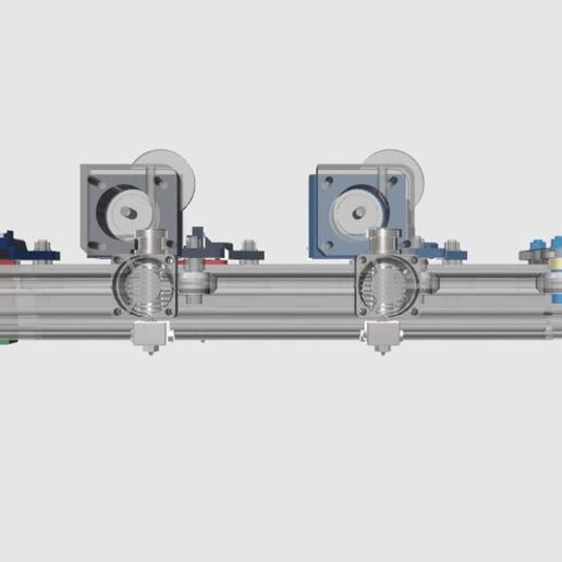 Front-View-ALL.png Télécharger fichier STL gratuit Tevo Tarantula Direct E3D Titan X-Carriage • Design pour impression 3D, theFPVgeek