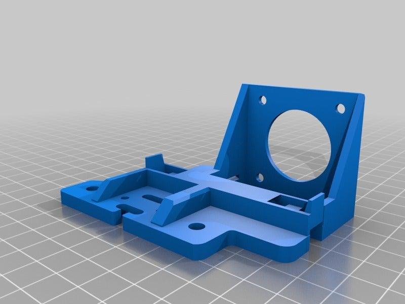 96ef9219301d19b230edee7d9aee57a2.png Télécharger fichier STL gratuit Tevo Tarantula Direct E3D Titan X-Carriage • Design pour impression 3D, theFPVgeek