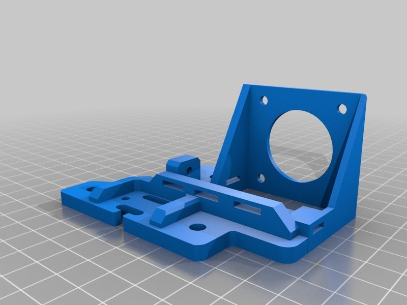0212719ee45e3b01652abf0363ef5d45.png Télécharger fichier STL gratuit Tevo Tarantula Direct E3D Titan X-Carriage • Design pour impression 3D, theFPVgeek