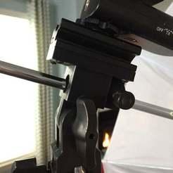IMG_5530.jpg Download free STL file Flash Bracket Swivel Umbrella Holder Block Repair • 3D printable design, theFPVgeek