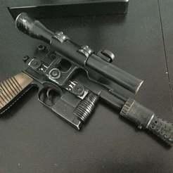 Télécharger fichier STL gratuit Le blaster Han Solo (DL-44) • Plan pour impression 3D, theFPVgeek