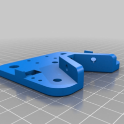 Download free STL file Tevo Tarantula Modular X Carriage for Openbuild wheels & Extrusion • 3D printing template, theFPVgeek