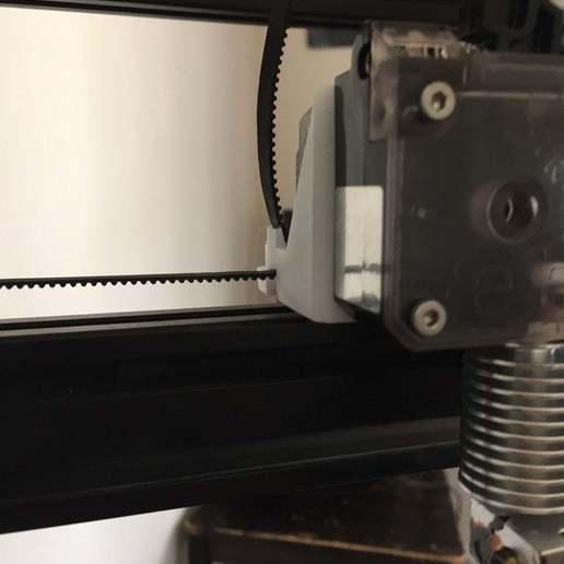 IMG_4284.jpg Télécharger fichier STL gratuit Tevo Tarantula Direct E3D Titan X-Carriage • Design pour impression 3D, theFPVgeek