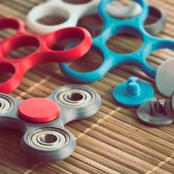 Fidget-Spnners.jpg Télécharger fichier STL gratuit Épingle pour le bloc-pouce de la toupie • Design à imprimer en 3D, theFPVgeek