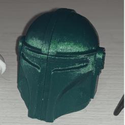 Mandalorian.png Download STL file Mandalorian Toothbrush Case • Model to 3D print, 3dNova