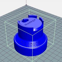 support_01.JPG Download STL file Support for Garmin watch refill • Object to 3D print, hericherstephane