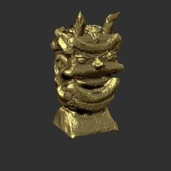 1jg.jpg Download free STL file Jungle Temple god • 3D printer design, MDForge