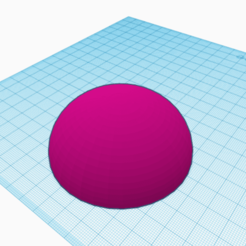 Download free STL file Suitable hemisphere for flask lid • 3D printable design, javanbiz
