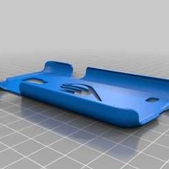 SamsungCase.jpg Télécharger fichier STL gratuit Logo de la guilde des queues de fée Samsung S4 Mini Case • Modèle à imprimer en 3D, campbellfabrications