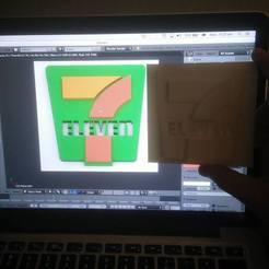 711.jpg Télécharger fichier STL 7-Eleven Logo #7ElevenDay • Plan à imprimer en 3D, campbellfabrications