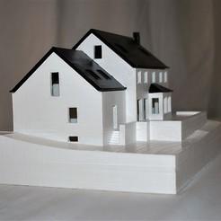 DSC_0012.jpg Télécharger fichier STL Maquette maison • Objet pour imprimante 3D, Six3Dprinting