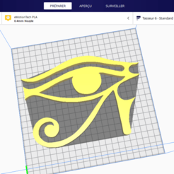 Sans titre.png Download free STL file Eye of Horus • 3D printing object, Six3Dprinting