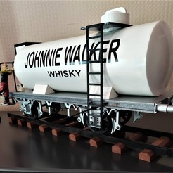 42.jpg Download STL file Tintin Wagon - L'île noire • 3D print design, Six3Dprinting