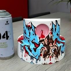 14238352_1257744054276389_3177327104518328313_n.jpg Télécharger fichier STL Caps, diffuseur de peinture • Design pour imprimante 3D, Six3Dprinting