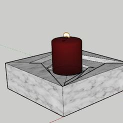 candle pers.JPG Download STL file Candle Holder • 3D printer model, AKGDesign