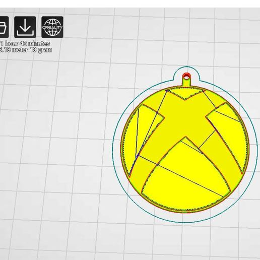 Printer Settings2.JPG Download free STL file Xbox Keyring • 3D printable object, AKGDesign