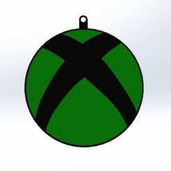 Download free STL file Xbox Keyring • 3D printable object, AKGDesign