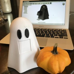 IMG_8931.jpeg Download STL file CANDY DISPENSING GHOST • 3D printer object, officium