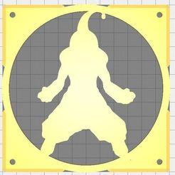 Captura2.JPG Download free STL file Fan grid 120mm - DB kid buu • Object to 3D print, msilva4