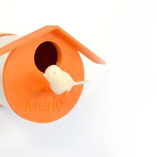 bird_house_by_Samuel_Bernier_display_large.jpg Télécharger fichier STL gratuit La maison de l'oiseau en boîte de conserve par Samuel Bernier, Projet RE_ • Plan pour imprimante 3D, ximenachata