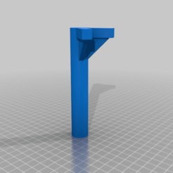 "Launch_Rod_Stand_Off_OneEighthDiam_60Deg.png Download free STL file Launch Rod Stand Off (1/8"" and 3/16"" rods) • 3D printable object, JackHydrazine"