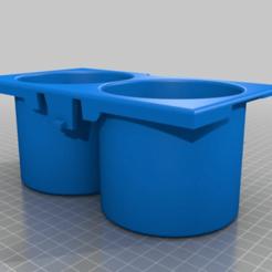 77c24fa09995a266b17c544a1b053b7d.png Download free STL file Honda Element Cup Holder • 3D printing model, JackHydrazine