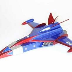Gatchaman_Phoenix_Toy.JPG Télécharger fichier OBJ gratuit Gatchaman G-Force Bataille des planètes Phoenix • Objet imprimable en 3D, JackHydrazine