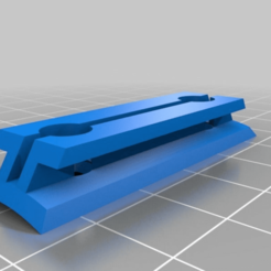 fe84e344ed9b48d9a0e4267b7fe432d9.png Download free STL file 1010 Conformal Rail Guide 38mm (Fastener Version) • 3D printable template, JackHydrazine
