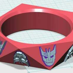 Cybertronic_Spree_Bracelet1_Complete.jpg Download free STL file Cybertronic Spree Bracelet #1 • Design to 3D print, JackHydrazine