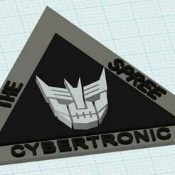 Cybertronic_Spree_Medallion1.jpg Télécharger fichier STL gratuit Le médaillon Cybertronic Spree #1 • Design pour impression 3D, JackHydrazine
