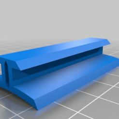 092ccf0d6ab41a5ef7fc5c6539d34446.png Download free STL file 1010 Conformal Rail Guide 98mm (Adhesive Version) Custom • 3D printer template, JackHydrazine