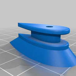 "cc8e4b355cec1212e5e1eb1f3e74153d.png Download free STL file 1010 Aero Rail Button with 3/16"" (4.76mm) Standoff Rounded • 3D printer object, JackHydrazine"