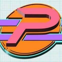 Phenomenauts_Logo_3D_pic.jpg Télécharger fichier STL gratuit Le logo des Phénomènes • Objet pour imprimante 3D, JackHydrazine