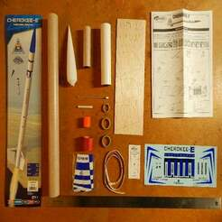017.JPG Download free STL file Estes Cherokee-E model rocket (kit #2408) • 3D printable model, JackHydrazine