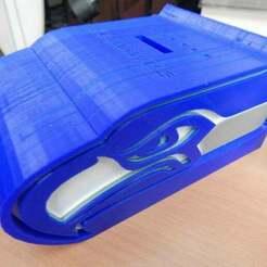 003.JPG Télécharger fichier STL gratuit Tirelire des Seahawks • Modèle à imprimer en 3D, JackHydrazine