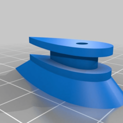 "a94e6df1c12d40bb088db4e60babcf24.png Download free STL file 1010 Aero Rail Button with 3/16"" (4.76mm) Standoff • 3D printable model, JackHydrazine"