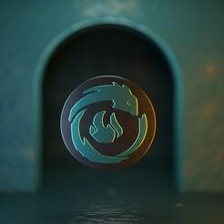 Ionia.jpg Télécharger fichier STL League of Legends - Porte-clés/pendentif Ionia • Plan pour impression 3D, gusmaia