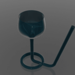 20200828_003956.png Download STL file cup with straw • 3D printing object, Ghariani3