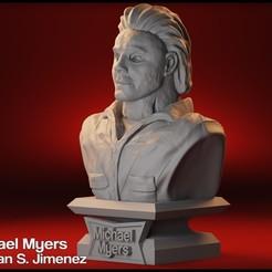 2.jpg Télécharger fichier STL Michael Myers Bust, sculpteur de personnages de films d'Halloween • Modèle pour impression 3D, DamianJimenez
