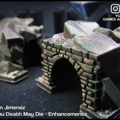 4.jpg Download STL file Tunnel for board games Cthulhu Death May Die enhancement • Model to 3D print, DamianJimenez