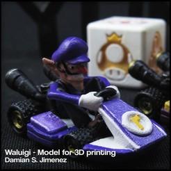 Cults 8.JPG Télécharger fichier STL MARIO KART WALUIGI - WALUIGI POUR JOUEUR MONOPOLISTE • Design pour impression 3D, DamianJimenez